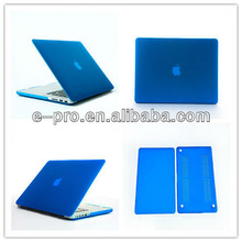 best selling crystal/matte/rubberized effect case for macbook pro a1342