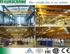 Car Industry Electric Single Girder Overhead Crane 20 Ton