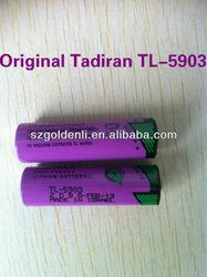 100% new and original 3.6V 2400mAh Tadiran TL-5903 lithium Battery