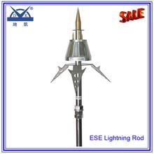 Early streamer emission ese lightning rod design