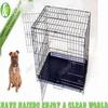 Haierc DSA30 Folding Dog Crate, Iron Dog Crate,Dog House