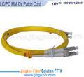 Amarillo mm dx lc/pc de fibra óptica de latiguillos de cable