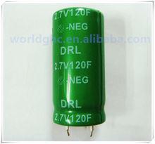 2.7v 120f super capacitor for short term UPS
