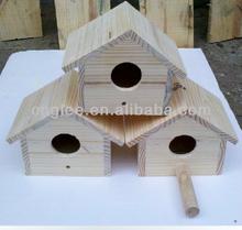 Wooden Craft Pet Cage Bird House