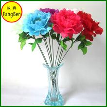 Cheap Artificial Peony Flowers Wedding Decoration (FB015657)