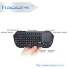 Hapurs 2013 hot selling wireless portable usb mini touchpad keyboard ,2.4G Multi-language Support Wireless Touchpad Keyboards