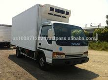 Used 2001 Isuzu Elf Refrigerator / Freezer Van 3 ton,Export from Japan
