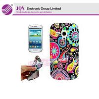 Flower Printed tpu Case for Samsung Galaxy S4 Mini i9190 Gel TPU Rubber Back Cover