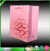 Printable paper bags pink paper shopping bags with red gold foil