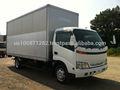 Usado 2001 Hino Dutro 3 ton alumínio van, Exportação do japão