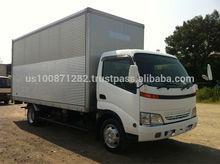 Used 2001 Hino Dutro 3 ton Aluminum Van, Export from Japan