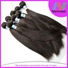 100% brazilian bundle hair weft remy human hair extension straight hair 100g