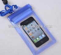 hot sales pvc waterproof zip lock bag for mobile phone