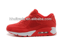 HOT selling passion red running shoes racing boot super breathable air sports shoes stores online 2014 causal shoes manufacture