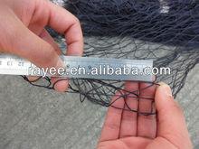 supply strong golden nylon net double knot / redes de pesca de nylon del multifilamento