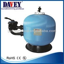 side mount Aquatics swimming pool sand filter