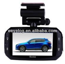 "2014 china alibaba ambarella a7LA50 mini car dvr 3.0"" LCD electronic car camera,Super night vision , 2304*1296P with GPS"