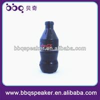 Cola Bottle Shape Digital USB SD FM Radio speaker