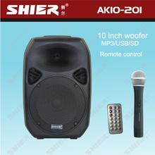 portable subwoofer stereo 10 inch wireless multi-function speaker box