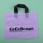 high quality Soft loop handle plastic shopping bag