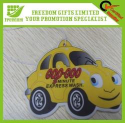 Promotional Logo Printed Wholesale Paper Car Air Freshener