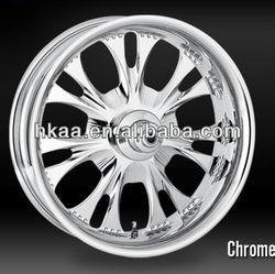 Custom Motorcycle Wheels/Components, chrome/aluminum alloy gear, motorcycle wheel rims