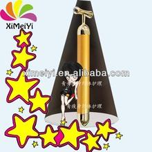 mini anti aging skin care products 24k gold face vibration beauty bar