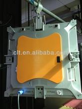 Indoor led back stage screen orange cabinet