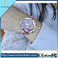 2014 nueva moda de estilo coreano japonés hecho a mano de arcilla de polímero occidental lindo reloj