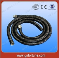CE Electrical Flexible PVC Coated Metal Cable Spiral Conduit