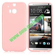 Soft Flexible Gel Pure Colour TPU Case for HTC M8