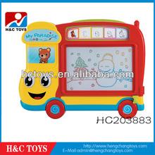 Children plastic cartoon writing board toy drawing board,HC203883