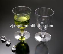 4Oz Plastic wine glass