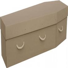 2015 nouveau DESIGN de haute qualité personnalisé papier cercueil