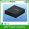 lifepo4 48v 50ah stored energy battery
