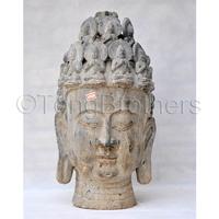 Ceramic Antique Style Buddha Head