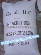soda ash light sodium carbonate