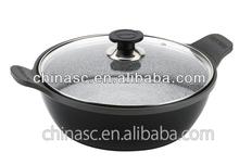Sacong Sauce Pot with Induction die cast aluminum grill pan