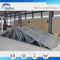 Por inmersión en caliente de acero galvanizado, prueba de ciclones, de acero de vigas del techo de los precios para la venta