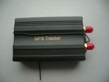 GPS tracker TK103B+ support lock/unlock car door support 2 SIM, SD card Fuel sensor Quad-band PC&Web GPS tracking system
