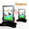 Advertising picture frame battery powered led light box