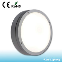high quality CE RoHS certificates ip54 waterproof led round plastic ceiling light covers