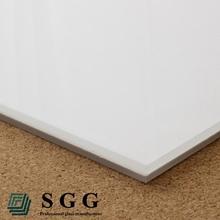 High Quality laminated glass panels white / offwhite / milk white