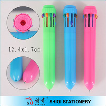 best selling full color printing ten color multi color pen
