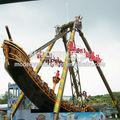 moderno al aire libre divertido parque barco pirata conjunto de juegos para la venta