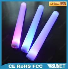 Sunjet plastic hand purple 12v flexible led strip light stick