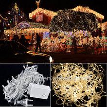 10M Warm white 100 LED String Light Decorative Christmas Party Twinkle String 220V EU
