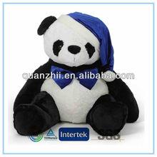 Plush huge sleepy panda