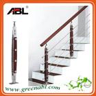 ABL/ABLinox 304/316 Stainless Steel Balcony wood railing designs
