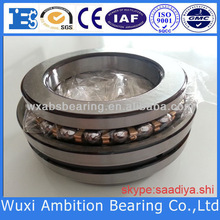 Double direction thrust angular contact ball bearings